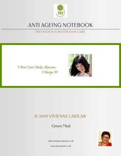 Great Anti-Ageing Tips!  From the Founder of Green Mud Skincare, this ebook shows you great anti-ageing tips.  #anti-ageing  #tips #ebook #naturalskincare