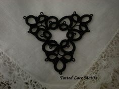 Black Tatted Motifs for Neo-Victorian designs