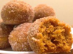 The Best Pumpkin Donut Holes