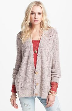 Free People 'Fall Friend' Cardigan available at #Nordstrom