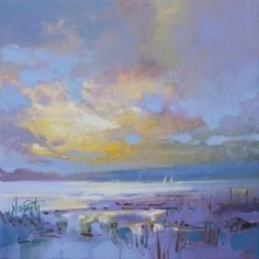 Scott Naismith Cowal Light Study 1  20cm