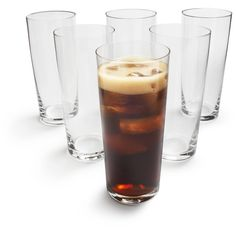 Schott Zwiesel Bar Collection Soft-Drink Tumblers, 13 oz., Set of 6 | Sur La Table