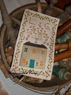 Loureda Geiste sampler by Notforgotten Farm