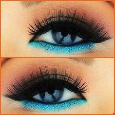 I want that color eye liner