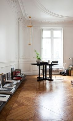 Charlotte de Tonnac & Hugo Sauzay apartment in Paris