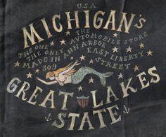 """Michigan's Great Lakes State"" at The Avtomobile Store in Ann Arbor, MI"