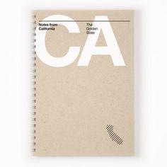 California Notebook. John McCauley and David Klinker, Designers, Orange & Park