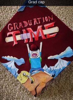 ??????? Funny Graduation Caps, Graduation Cap Designs, Graduation Cap Decoration, Graduation Diy, Grad Cap, Cap Decorations, Grad Parties, Memes, High School