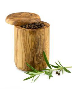 Gewürzdose magnetisch aus Olivenholz 10 cm | treevoli