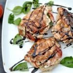 This grilled chicken comes together beautifully with a simple and sweet marinade with fresh rosemary and balsamic vinegar. The chicken makes an easy summer time weeknight meal, or is a perfect dish for entertaining guests. This grilled chicken recipe has been around my marriage for a long time; it was my first ever chicken marinade... Get the Recipe