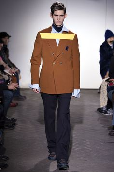 Fall 2013 Menswear  Raf Simons