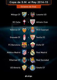 Emparejamientos-Copa del Rey. | LFP