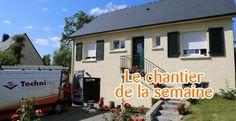 [chantier de la semaine] Nous vous invitons sur le chantier d'une pompe à chaleur air/air et un ballon d'eau chaude (ECS) à Ercé près Liffré (35) près de Rennes. + d'infos : http://bit.ly/1vtCJWb – à Ercé-près-Liffré.
