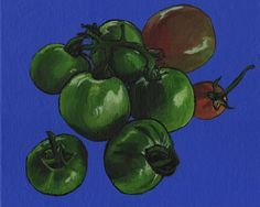 Green Tomatoes On The Vine - Free Arts Academy- Art From Our Channel Art Paintings For Sale, Flower Landscape, Green Tomatoes, Art Academy, Acrylic Painting Canvas, Pet Portraits, Vines, Abstract Art, Channel