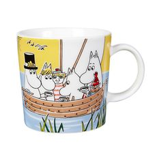 Moomin Mugs, Kitchenware, Tableware, Marimekko, Cartoons, Collections, Calligraphy, Decorating, Drawings