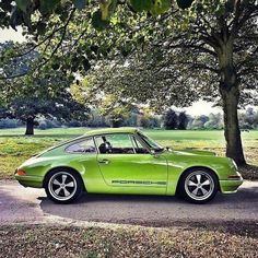 The Porsche 911 is a truly a race car you can drive on the street. It's distinctive Porsche styling is backed up by incredible race car performance. Porsche Panamera, Porsche Autos, Porsche Sports Car, Porsche Cars, Porsche Classic, Classic Cars, Porsche Carrera, Retro Cars, Vintage Cars