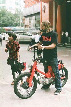 Yasunobu Ogawa さんの バイク ボードのピン | Pinterest - Honda SuperCub Custom Style カスタムカブ画像集