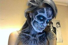 White Walker, Game of Thrones by Creator Laura Gardner