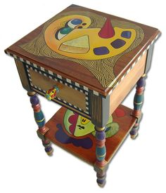Picasso Biggest Fan table by Nancy Woods