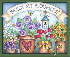 Laurie Furnell   ... por jacque as 01 05 marcadores ilustracoes de laurie furnell flores
