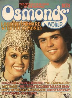 The Official Yearbook of the Osmonds - 1978, at the height of their fame. They actually had a yearbook! Amazing.