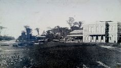 Estação ferroviaria de São Brás, em 1898