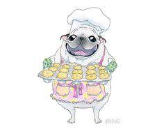 Gramma Fancy's Pugcake Emporium!