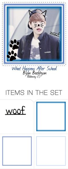 """Exo Story // Baekhyun // Part 1"" by david-strider-coolguy ❤ liked on Polyvore featuring art"