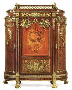 19th century louis xvi style cabinet | ... Palatial Antique French Louis XVI Style Armoire Cabinet After Benneman