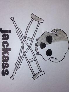 Drawing Logo Jackass