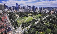Boston Commons Park largest public inner city park in the United States