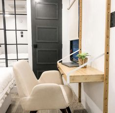 IKEA SVALNAS DESK is the perfect RV workspace.