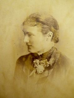 1880s Victorian Cabinet Card Photograph By W Winter Derby