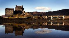 Eilean Donan Castle in Loch Duich in the western Highlands of Scotland/ Photo:Danny Lawson/PA Wire