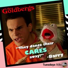 """""""Fraggles can't be nurses, they dance their cares away""""- Barry Goldberg Barry Goldberg, The Goldbergs, Fraggle Rock, Shop Fans, Television Tv, Hooray For Hollywood, Movie Lines, Jim Henson, Disney Quotes"""