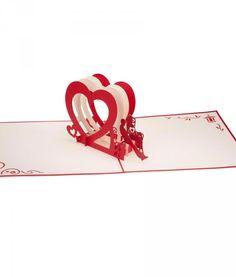 Lovepop S Heart Bench Paper Pop Up Card
