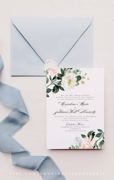 Bring your wedding to life with our watercolor floral wedding invitations and elegant calligraphy, all printed on soft-to-the-touch cotton paper. Elegant Wedding Invitations, Wedding Invitation Suite, Floral Invitation, Wedding Stationary, Invitation Design, Invitation Cards, Watercolor Wedding, Floral Watercolor, Wedding Colors
