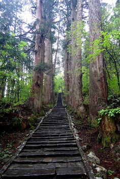 Mt. Haguro, Yamagata, Japan