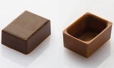 Plain Rectangular Praline Polycarbonate Mould