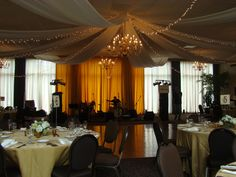 Drapery at University Club by EventsPlusNashville.com