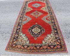 Vintage Turkish Carpets and Vintage Turkish Kilim by SILKROADRUGS Decor, Turkish Carpet, Rugs, Vintage, Carpet, Kilim, Vintage Turkish Kilim, Bohemian Rug, Hallway Rug