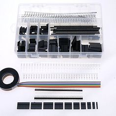 100% Brand new high #quality connector, pin headers and IDC cable kit  Package quantity: 635-Piece and 5-Feet 10-Wire IDC Cable   Package Includes:   #Dupont Conn...