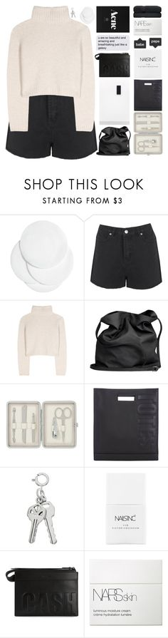 """Have mercy on me"" by trnslucid ❤ liked on Polyvore featuring H&M, Boohoo, The Row, Ann Demeulemeester, John Lewis, 3.1 Phillip Lim, Nails Inc., NARS Cosmetics, annabanana4kcontest and unicorntags"