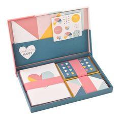 Letter Set: Happy | New Releases | Shop | kikki.K Stationery & Gifts
