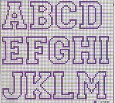Mio Dot (punto croce e grafica): Grafica lettere / alfabeto / Frasi