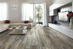 Factory Paint & Decorating: Porcelain Floor Planks Great For All Rooms
