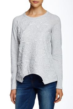 French Terry Sweatshirt  by Democracy on @nordstrom_rack