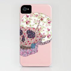 Liberty Skull iPhone Case by Dario Olibet - $35.00