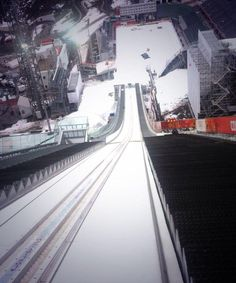Twitter / Sochi2014: Check out the view from the top of the very FIRST Women's Olympic Ski Jump...are you brave enough? #Sochi2014