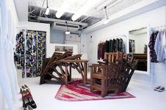 3Dプリンターを使用した、マッドスネイルによるアンリアレイジの店舗デザイン